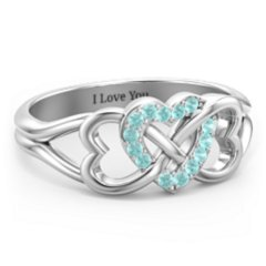 Infinity Rings Personalized By You Jewlr